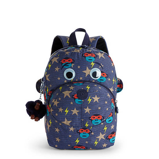 Faster Kids Small Printed Backpack,Toddler Hero,large