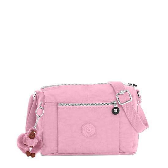 Wes Crossbody Bag Scallop Pink Large
