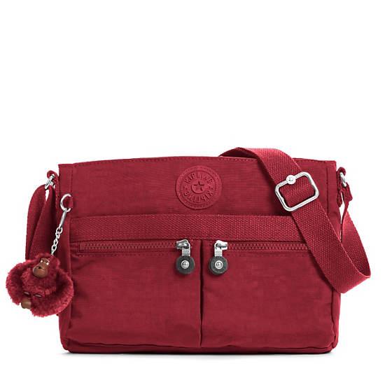 Angie Handbag Brick Red Large