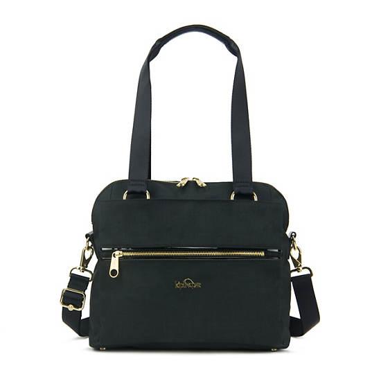 Catelyn Handbag Black Crosshatch Large