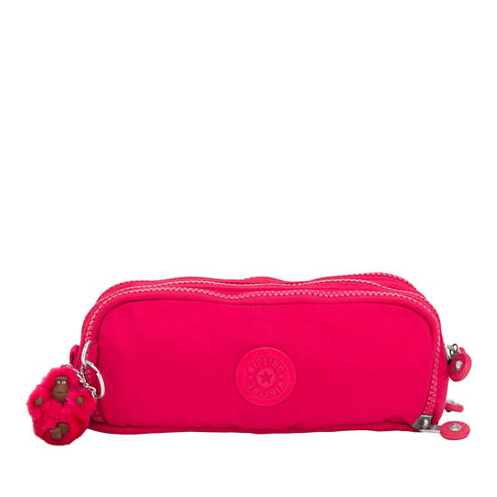 Gitroy Pencil Case,True Pink,large