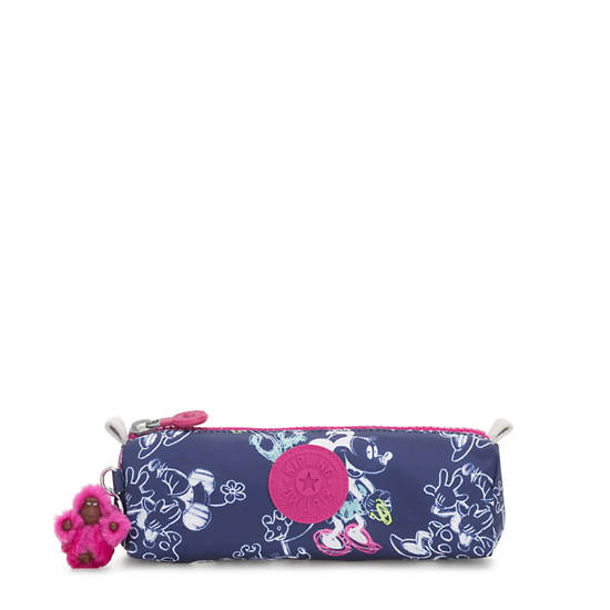 Disney's Minnie Mouse and Mickey Mouse Freedom Pouch,DOODLE BLUE,large
