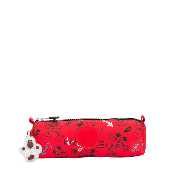 Disney's 90 Years of Mickey Mouse Freedom Pouch,Sketch Red,large