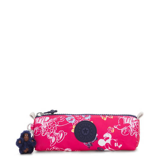 Disney's Minnie Mouse and Mickey Mouse Freedom Pouch,DOODLE PINK,large