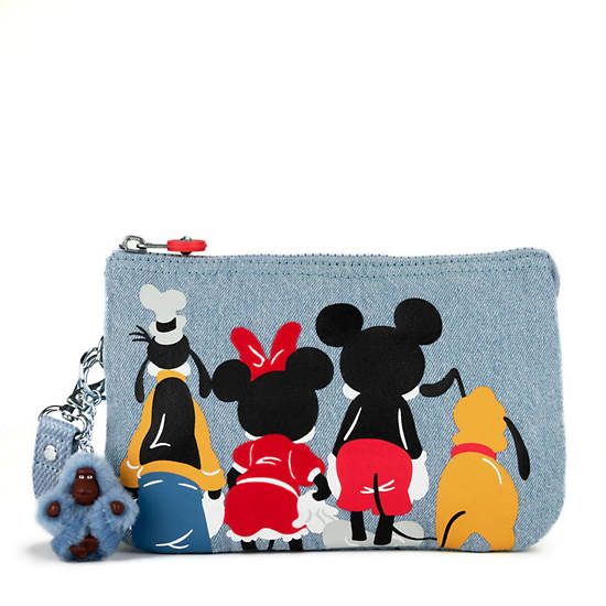 Disney's 90 Years of Mickey Mouse Creativity Extra Large Pouch,Club House,large