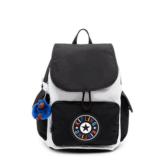 City Pack Backpack,Black white Combo,large
