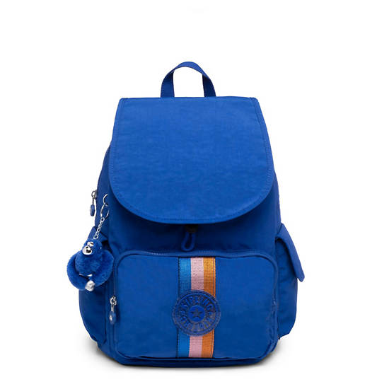 City Pack Backpack,Blue Tropics Tonal Zipper,large