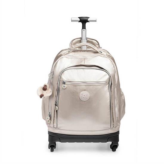 Echo II Rolling Backpack,Cloud Grey Metallic,large