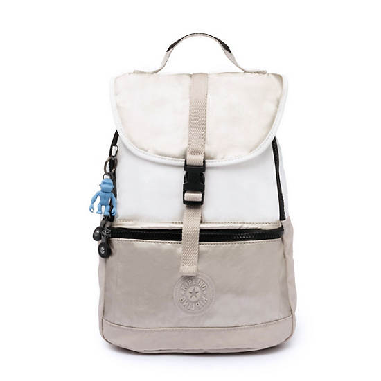 Kendall Convertible Backpack,Beige Combo,large