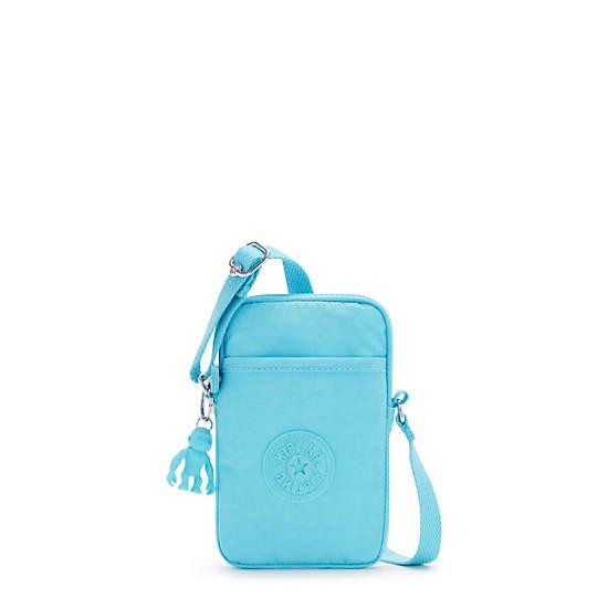 키플링 탈리 폰백, 미니백 - 블루 스플래시 Kipling Tally Crossbody Phone Bag,Blue Splash