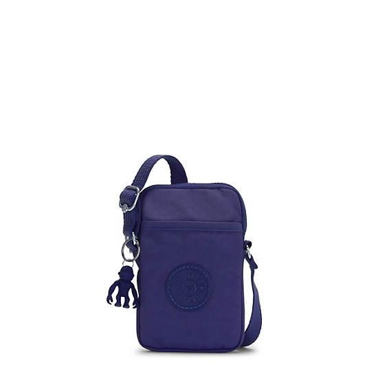 키플링 탈리 폰백 Kipling Tally Crossbody Phone Bag,Galaxy Blue
