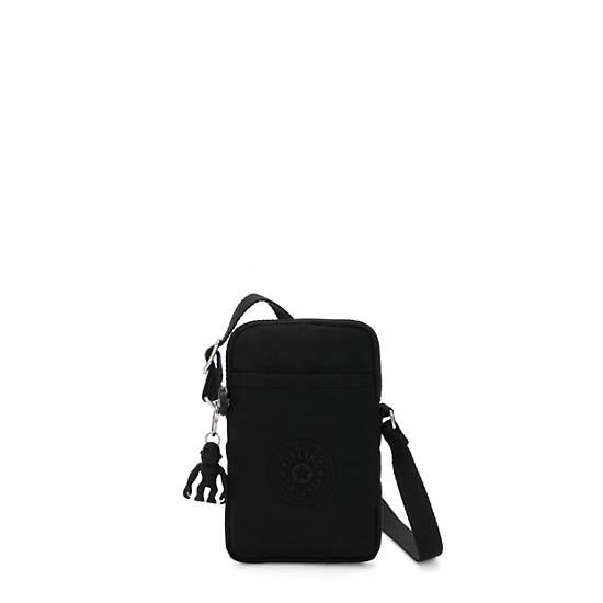 키플링 탈리 폰백 Kipling Tally Crossbody Phone Bag,Black Noir