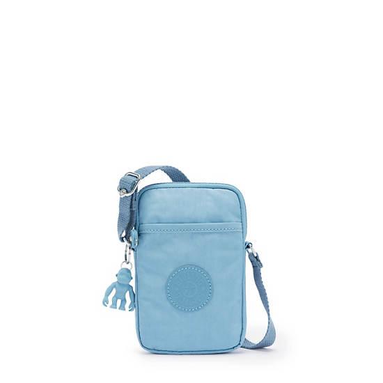 키플링 탈리 폰백, 크로스바디 - 블루 미스트 Kipling Tally Crossbody Phone Bag,Blue Mist