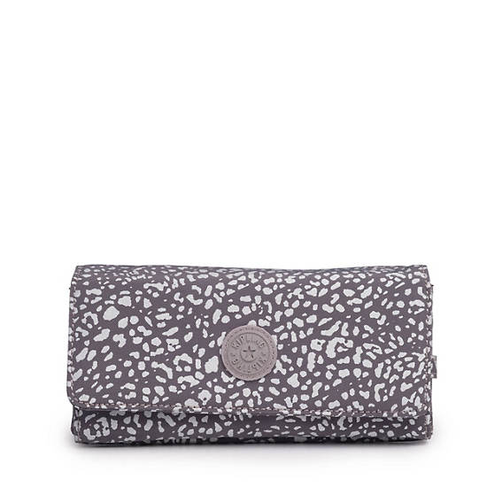 New Teddi Snap Wallet,Luminous Stripe,large