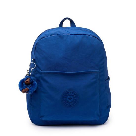 Bennett Backpack,Blue Topics Tonal Zipper,large