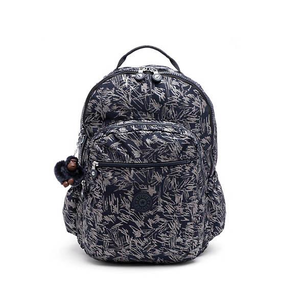 Seoul Go Extra Large Laptop Backpack,Vibrant Sketch,large