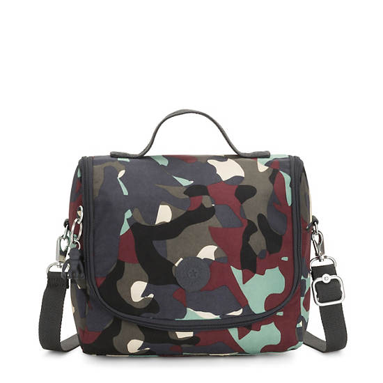 Kichirou Printed Lunch Bag,Camo,large
