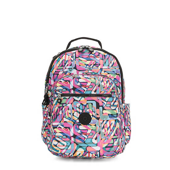 "Seoul Large 15"" Laptop Printed Backpack,Wild Melody,large"