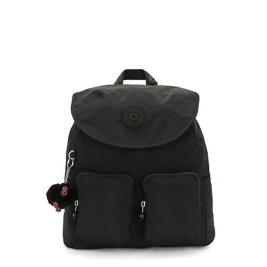 Fiona Medium Backpack,Black Tonal Zipper,large