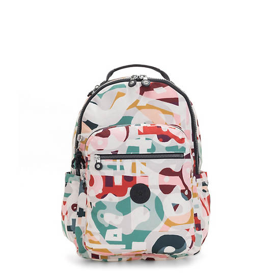 "Seoul Large 15"" Laptop Backpack,Music Print,large"