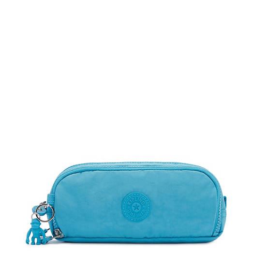 Gitroy Pencil Case, Blue Burst, large