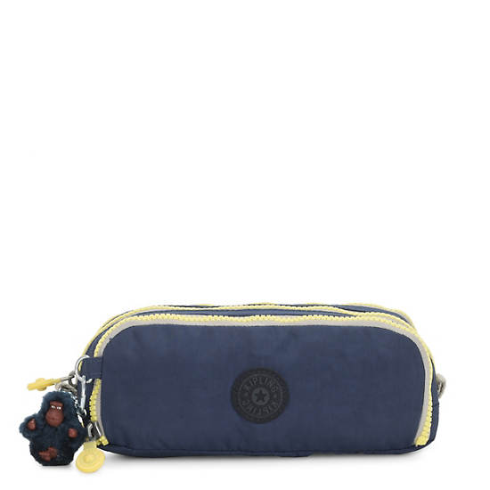 Gitroy Pencil Case,Blue Thunder,large