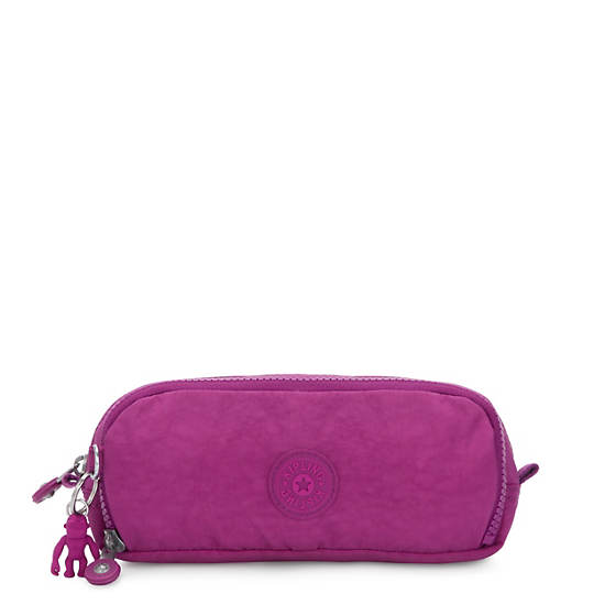 Gitroy Pencil Case,Bright Pink,large