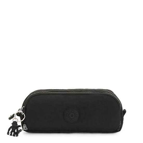 Gitroy Pencil Case,Black Noir,large