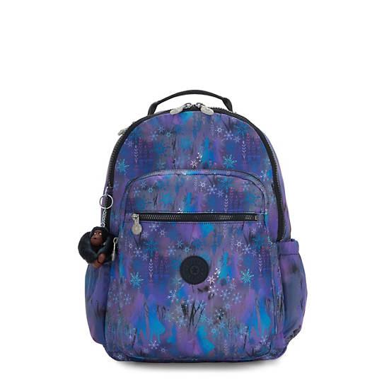 "Disney's Frozen II Seoul Go Large 15"" Laptop Backpack,Mystical Adventure,large"