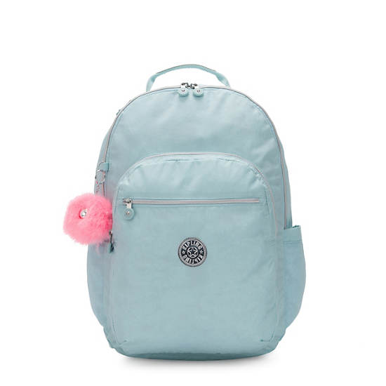 """Seoul Extra Large 17"""" Laptop Backpack,Glimmer Teal,large"""