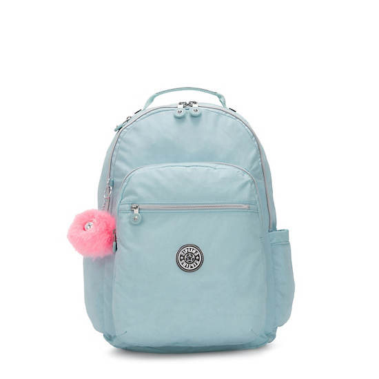 "Seoul Large 15"" Laptop Backpack,Glimmer Teal,large"