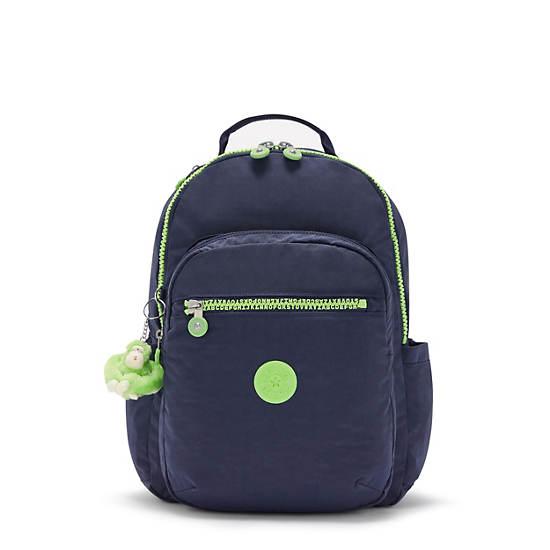"Seoul Large 15"" Laptop Backpack, Playful Letter, large"