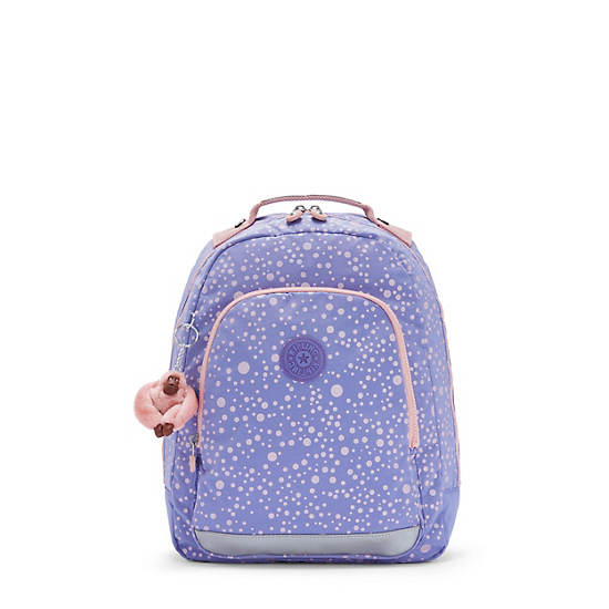 """Class Room Small 13"""" Printed Laptop Backpack, Purple Twinkle, large"""