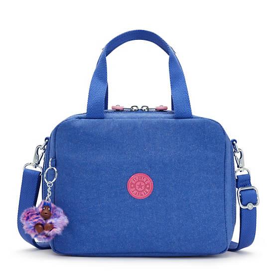 Miyo Metallic Lunch Bag, Sparkling Night, large