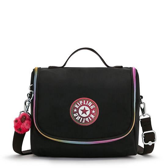 Kichirou Lunch Bag, Black, large