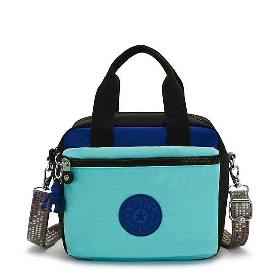 Ellison Lunch Bag, Poseidon Black, large