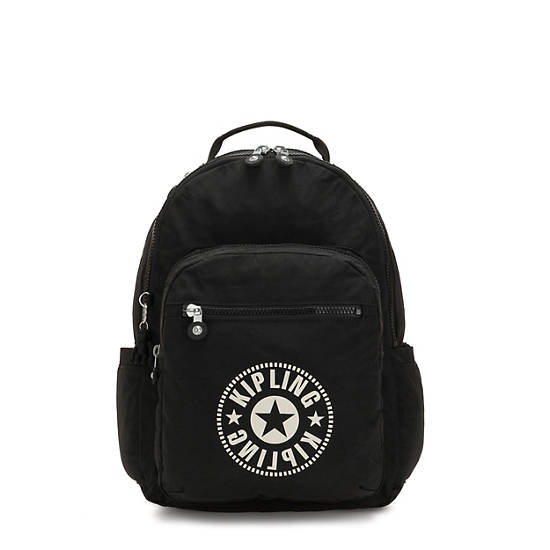 "Seoul Large 15"" Laptop Backpack,Lively Black,large"