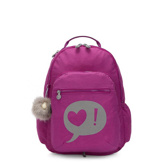 """Seoul Switch 2-in-1 Reversible 15"""" Laptop Backpack, Bright Pink, large"""