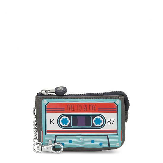 Mini Creativity Pouch Keychain,Cassette,large