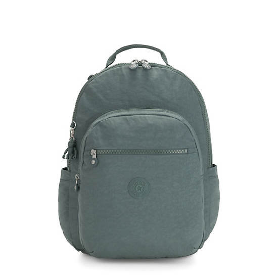 "Seoul Extra Large 17"" Laptop Backpack,Light Aloe,large"