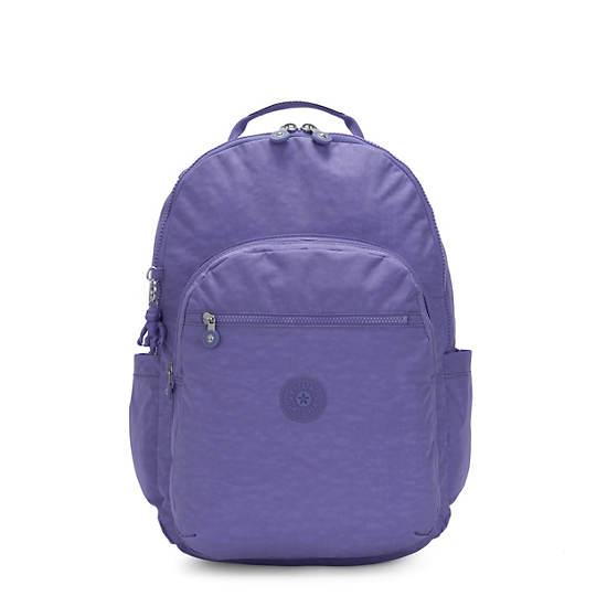 """Seoul Extra Large 17"""" Laptop Backpack,Eggplant Purple,large"""