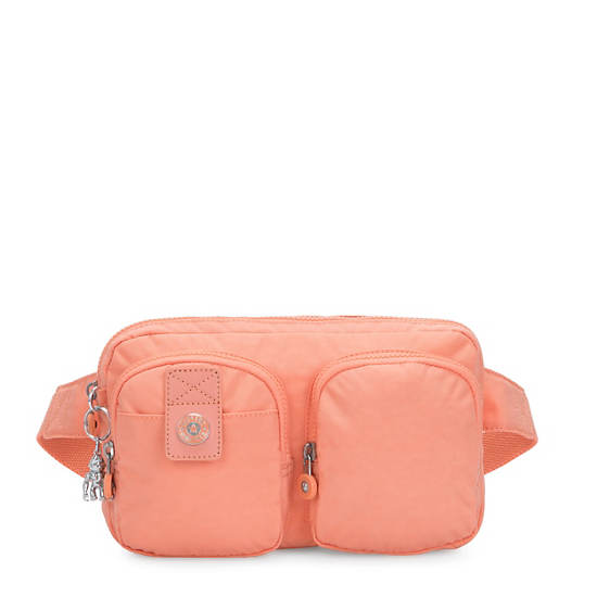 Navad Waist Pack,Peachy Coral,large