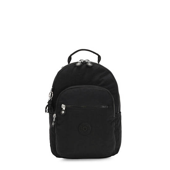 Seoul Small Tablet Backpack, Black Noir, large