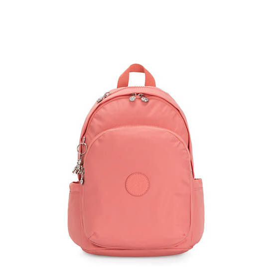 Delia Backpack,Coral Pink,large