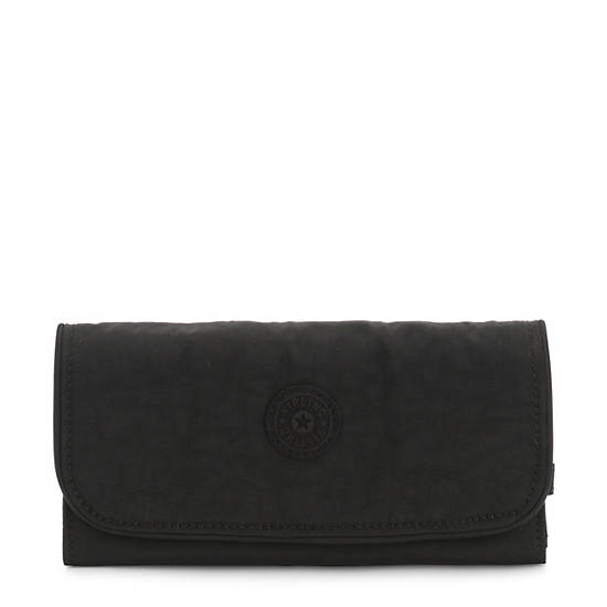 Money Land Snap Wallet,Black Noir,large