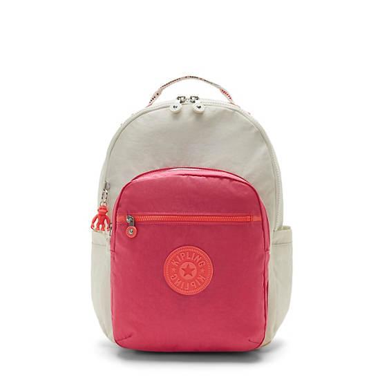 """Seoul Large 15"""" Laptop Backpack, Varsity Grey, large"""