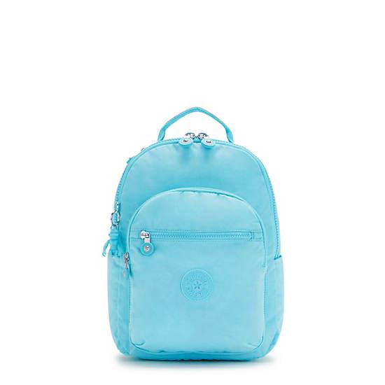 Seoul Small Tablet Backpack, Blue Splash, large
