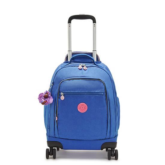 """Zea Metallic 15"""" Laptop Rolling Backpack, Sparkling Night, large"""