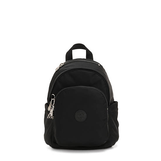 Delia Mini Backpack,Galaxy Black,large