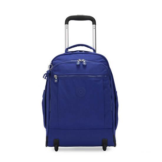 """Gaze Large 15"""" Laptop Rolling Backpack,Laser Blue,large"""